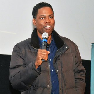 Chris Rock Promoting His Movie Top Five