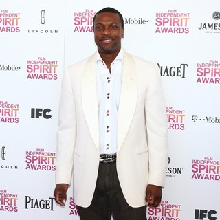Chris Tucker in 2013 Film Independent Spirit Awards - Arrivals