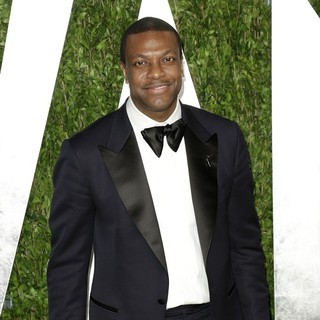 Chris Tucker in 2013 Vanity Fair Oscar Party - Arrivals