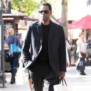Chris Rock Seen Shopping