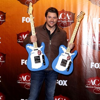 Chris Young in 2011 American Country Awards - Press Room