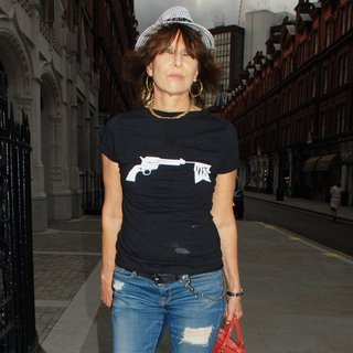 Chrissie Hynde in Celebrities Arriving at Chiltern Firehouse