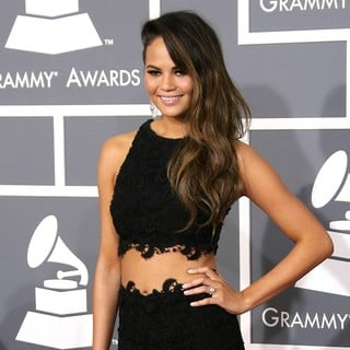 Chrissy Teigen in 55th Annual GRAMMY Awards - Arrivals