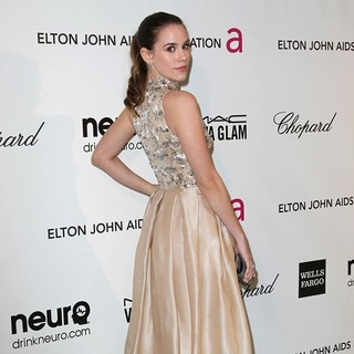 Christa B. Allen in 21st Annual Elton John AIDS Foundation's Oscar Viewing Party
