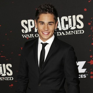 Christian Antidormi in U.S. Premiere Screening of Spartacus: War of the Damned