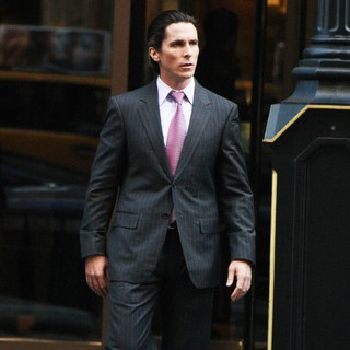 Christian Bale in The Latest Batman Film Set The Dark Knight Rises