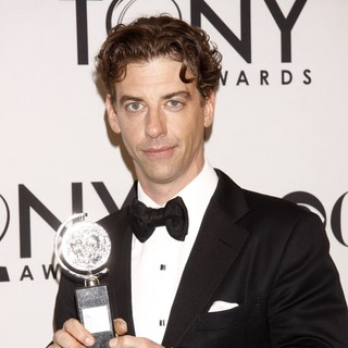 Christian Borle in The 66th Annual Tony Awards - Press Room