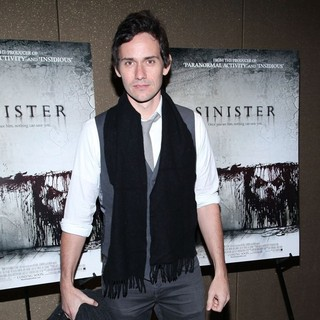 Christian Camargo in The NYC Screening of Sinister