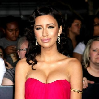 Christian Serratos in The Twilight Saga's Breaking Dawn Part I World Premiere