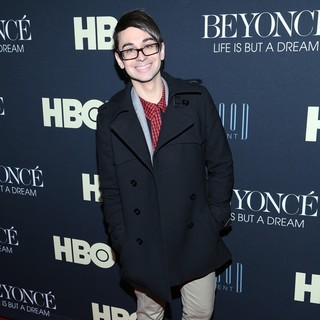 Christian Siriano in Beyonce: Life Is But a Dream New York Premiere