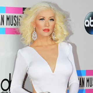 Christina Aguilera in 2013 American Music Awards - Arrivals