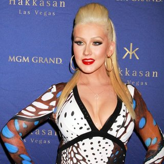 Christina Aguilera - Christina Aguilera Hosts The 2nd Year Anniversary of Hakkasan Nightclub
