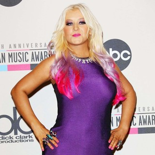 Christina Aguilera in 40th Anniversary American Music Awards - Nominations Announcement