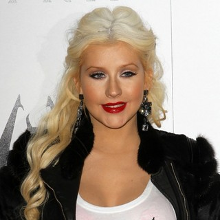 Christina Aguilera in The Elder Scrolls V: Skyrim Official Launch Party