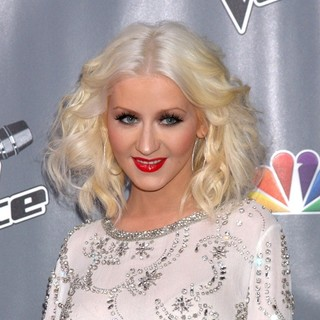 Christina Aguilera in The Voice Season 5 Top 12 Red Carpet Event