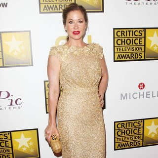 Christina Applegate in 4th Annual Critics' Choice Television Awards - Press Room