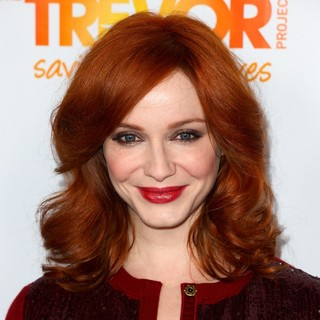Christina Hendricks in The Trevor Project's 2011 Trevor Live! - Arrivals - christina-hendricks-2011-trevor-live-01