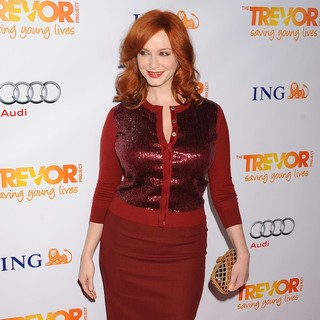 Christina Hendricks in The Trevor Project's 2011 Trevor Live! - Arrivals - christina-hendricks-2011-trevor-live-02