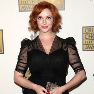 Christina Hendricks in 2012 Critics' Choice TV Awards - Arrivals