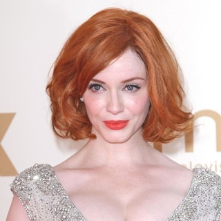 Christina Hendricks in The 63rd Primetime Emmy Awards - Arrivals