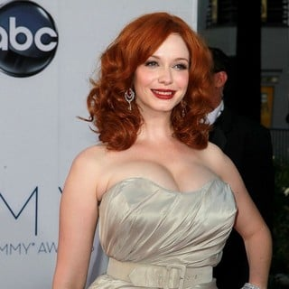 Christina Hendricks in 64th Annual Primetime Emmy Awards - Arrivals