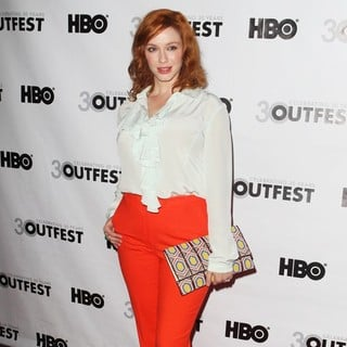 Christina Hendricks in Closing Night Gala 2012 Outfest with Struck by Lightning Premiere