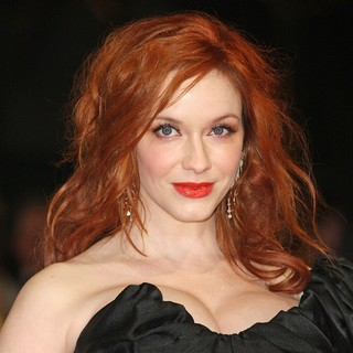 Christina Hendricks in Orange British Academy Film Awards 2012 - Arrivals - christina-hendricks-orange-british-academy-film-awards-2012-02
