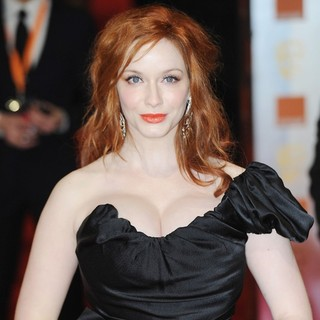 Christina Hendricks in Orange British Academy Film Awards 2012 - Arrivals - christina-hendricks-orange-british-academy-film-awards-2012-03