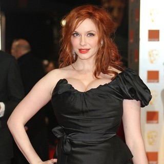 Christina Hendricks in Orange British Academy Film Awards 2012 - Arrivals - christina-hendricks-orange-british-academy-film-awards-2012-04