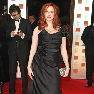 Christina Hendricks in Orange British Academy Film Awards 2012 - Arrivals - christina-hendricks-orange-british-academy-film-awards-2012-05