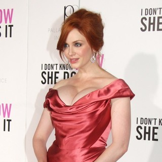 Christina Hendricks in New York Premiere of I Don't Know How She Does It - Arrivals