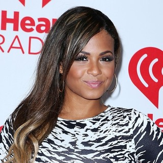 Christina Milian in 2012 iHeartRadio Music Festival - Day 2 - Arrivals