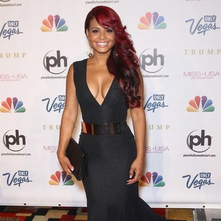 Christina Milian in 2013 Miss USA Pageant - Arrivals