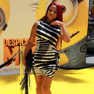 Christina Milian in Premiere of Universal Pictures' Despicable Me 2