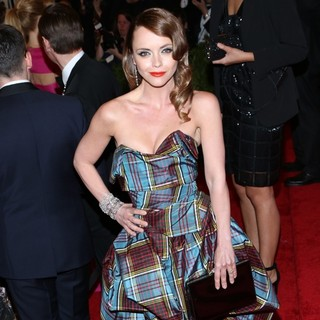 Christina Ricci in PUNK: Chaos to Couture Costume Institute Gala