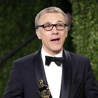 Christoph Waltz in 2013 Vanity Fair Oscar Party - Arrivals