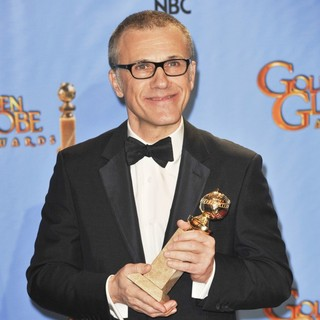 Christoph Waltz in 70th Annual Golden Globe Awards - Press Room