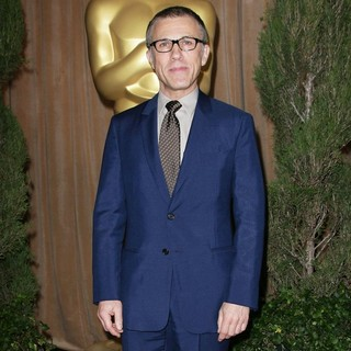 Christoph Waltz in 85th Academy Awards Nominees Luncheon