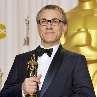 Christoph Waltz in The 85th Annual Oscars - Press Room