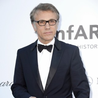 Christoph Waltz in 66th Cannes Film Festival - amfAR's 20th Annual Cinema Against AIDS - Arrivals