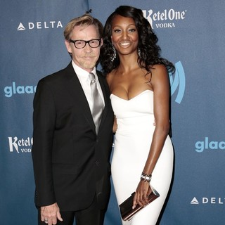 Dennis Christopher, Nichole Galicia in 24th Annual GLAAD Media Awards - Arrivals