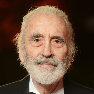 Christopher Lee in World Premiere of Skyfall - Arrivals