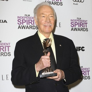 Christopher Plummer in 27th Annual Independent Spirit Awards - Press Room