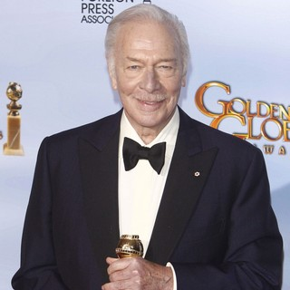 Christopher Plummer in The 69th Annual Golden Globe Awards - Press Room