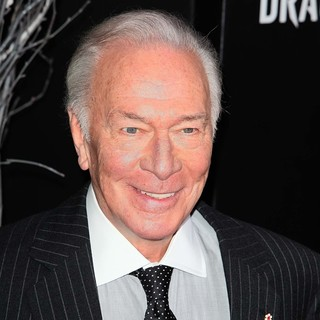Christopher Plummer in New York Premiere of The Girl with the Dragon Tattoo - Arrivals