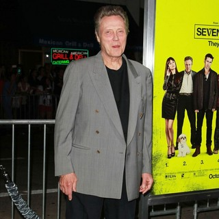 Christopher Walken in Seven Psychopaths Los Angeles Premiere - Arrivals