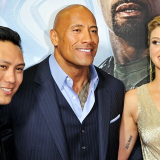 Jon M. Chu, The Rock, Adrianne Palicki in G.I. Joe: Retaliation - Sydney Premiere