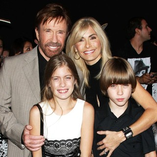 Chuck Norris in The Los Angeles Premiere of The Expendables 2