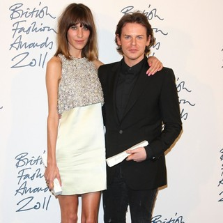 Alexa Chung, Christopher Kane in British Fashion Awards 2011 - Press Room