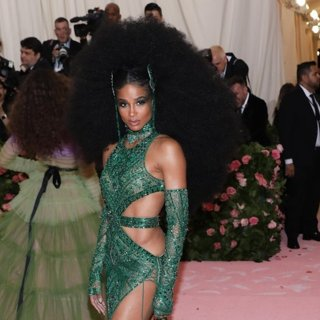 Ciara in The 2019 Met Gala Celebrating Camp: Notes on Fashion